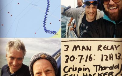 Channelling our Mid-Life Crises – 3 Man English Channel Relay